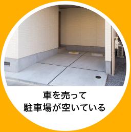 特P-とくぴー-駐車場、自宅の駐車スペースが活用できる