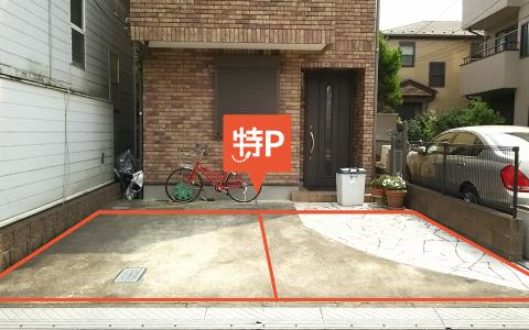 自宅の軒先の駐車スペースを特P駐車場として貸し出した収益モデル